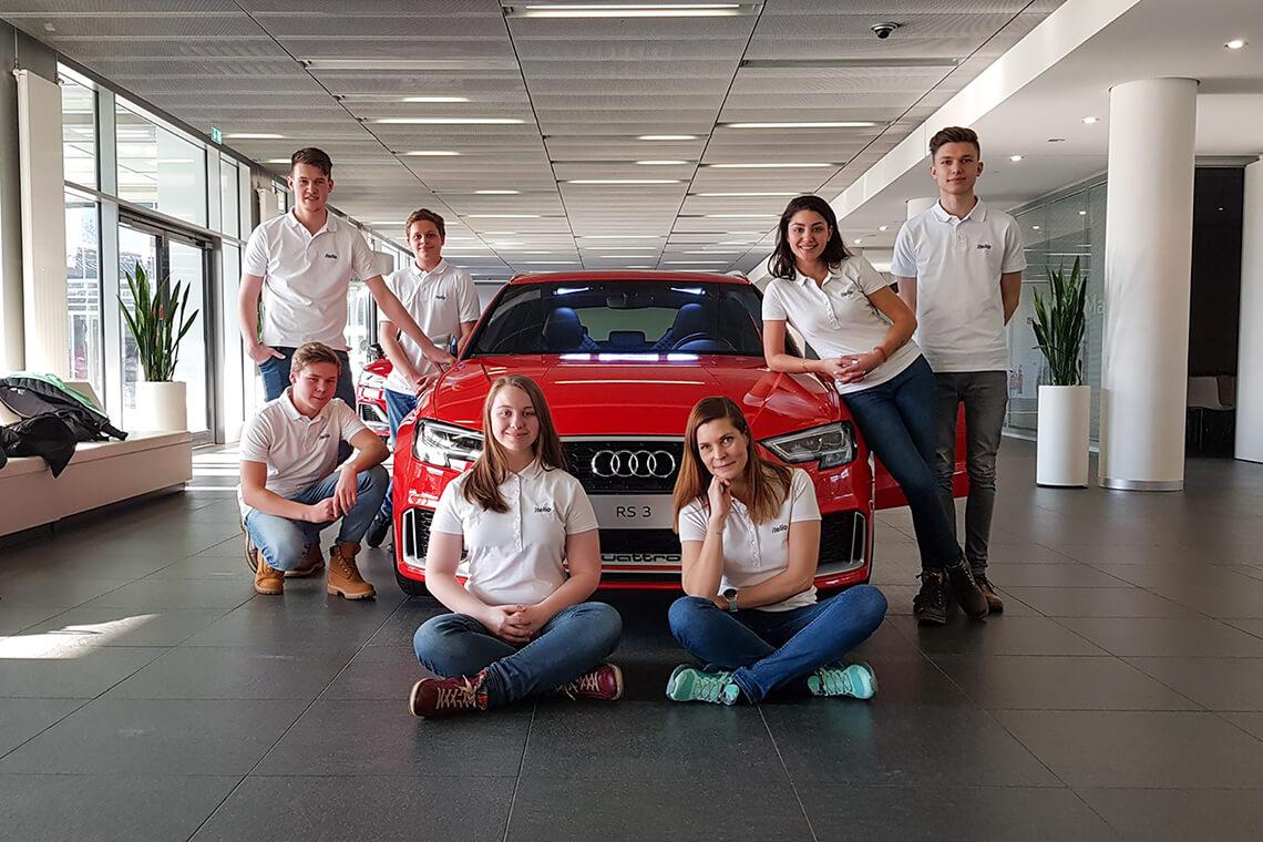 Azubiausflug Audi 2018