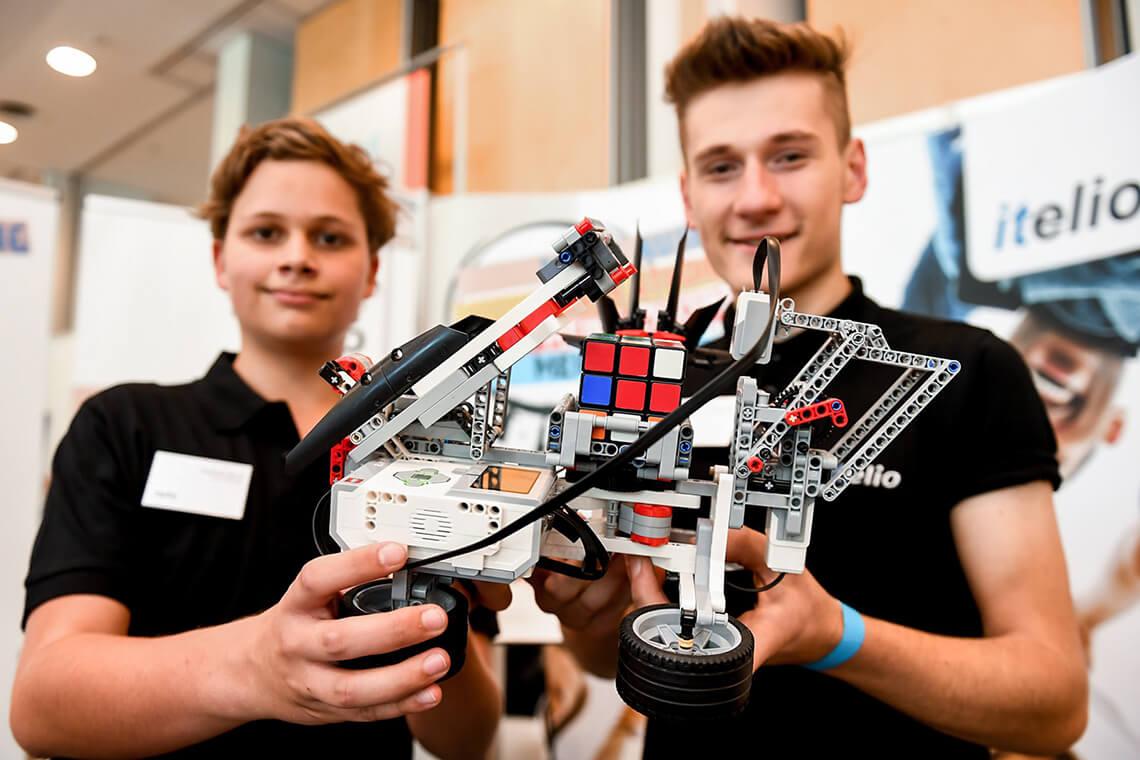 itelio Azubimesse 2018 Roboter