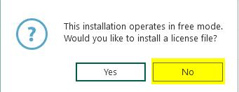 Datensicherung mit Veeam Installation ohne Key
